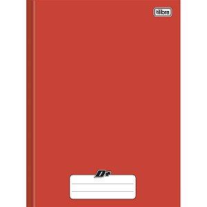 Caderno Brochura Capa Dura Tilibra D+ Vermelho 96 Folhas