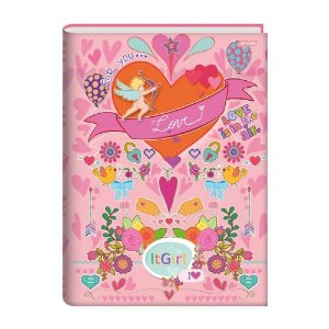 Caderno De Brochura 1/4 Jandaia It Girl Love 96 Folhas