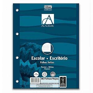 Refil para Caderno Argolado (Fichário) 140mm x 210mm 96 Folhas