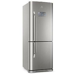 Refrigerador Electrolux DB53X Frost Free 454 Litros 2 Portas Bottom Freezer Inox