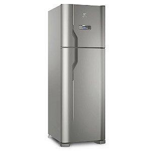 Refrigerador Frost Free Electrolux DFX41 371 Litros Duas Portas Inox