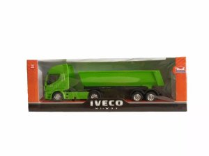 Caminhão De Brinquedo Iveco Hi Way Basculante Verde