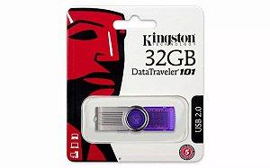 Pen Drive 32gb Kingston Datatraveler 101 Usb 2.0