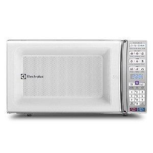 Micro-ondas de bancada Electrolux MEO44 Função Tira Odor e Manter Aquecido 34L Branco
