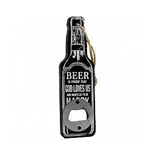 Abridor de Garrafa com Estampa Beer Dolce Home