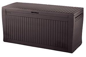 Baú Comfy Deck Box Keter Marrom