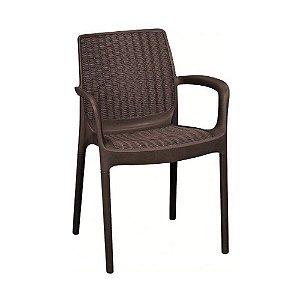 Cadeira Bali Keter Marrom