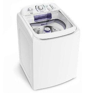 Lavadora de Roupas Top Load Electrolux LAP16 Branca c/ Dispenser Autolimpante e Ciclo Silencioso