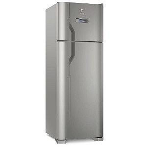 Refrigerador Frost Free Electrolux TF39S 310 Litros 2 Portas com Turbo Freezer Platinum Cinza
