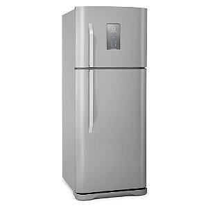 Refrigerador Frost free Electrolux TF51X 433 Litros 2 Portas Inox