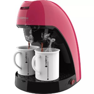 Cafeteira Single Cadence Colors CAF217 Rosa Doce 240ML