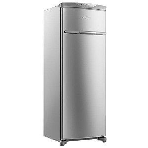 Freezer Vertical Flex Frost Free Brastemp BVR28MK 228 Litros Inox