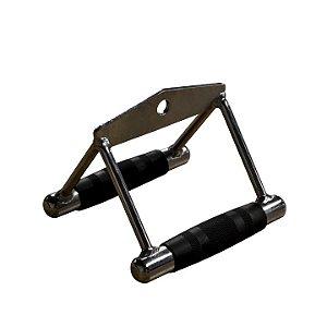 Puxador Triângulo para Pulley Konnen Fitness Prata