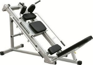 Leg Press/Hack Squat Machine - Bike and Fitness
