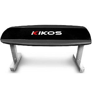 Banco Reto Kikos BR-21 - Preto com Cinza