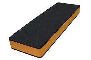 Step EVA (90x30x10 cm) Preto com Laranja