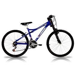 Bicicleta Aro 26 Alumino Susp 21V Azul Track Bike