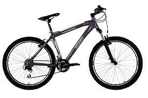 Bicicleta Aro 26 Aluminio TK-700 Susp 27V Cross Country Grafite - Track & Bikes