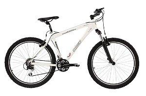 Bicicleta Aro 26 Aluminio TK-700 Susp 27V Cross Country Branca - Track & Bikes
