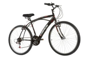 Bicicleta Aro 26 Comfort Fast 100 21 Marchas Preta - Track & Bikes