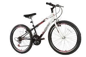 Bicicleta Axess Aro 24 Unissex Branco/Preto - Track & Bikes