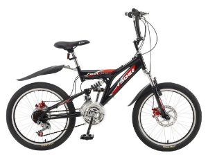 "Bicicleta Fast Boy Preta Aro 20"" - Fischer"