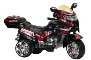 Moto Elétrica Infantil TF-830 6 Watts Preta - Track & Bikes