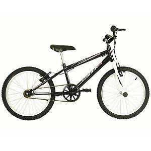 """Bicicleta Cometa Aro 20"""" Preto e Branco  - Track & Bikes"""