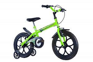 Bicicleta Dino Neon Aro 16 Amarelo - Track & Bikes