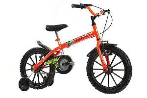 Bicicleta Dino Neon Aro 16 Laranja - Track & Bikes