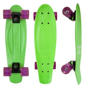 Skate Torpedo Green 22,5' - Kryptonics