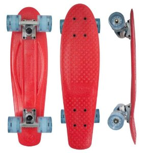 Skate Torpedo Red Metal 22,5' - Kryptonics