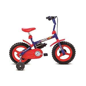 Bicicleta Infantil Aro 12 Rock Azul/Vermelho - Verden