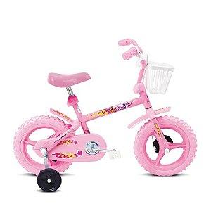 Bicicleta Infantil Aro 12 Fofys Rosa - Verden