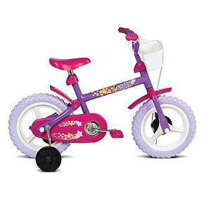 Bicicleta Infantil Aro 12 Fofys Lilás - Verden