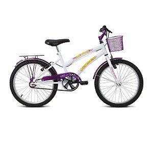 Bicicleta Aro 20 Breeze Branco/Lilás - Verden