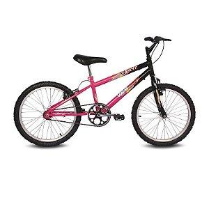 Bicicleta Aro 20 Brave Rosa/Preto - Verden