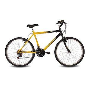 Bicicleta Aro 26 Live Amarelo/Preto 18 velocidades - Verden Bikes