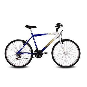 Bicicleta Aro 26 Live Azul/Branco 18 velocidades - Verden Bikes