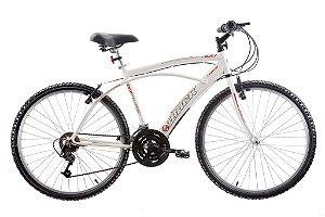 Bicicleta Aro 26 Comfort Fast 100 21 Marchas Branco - Track & Bikes