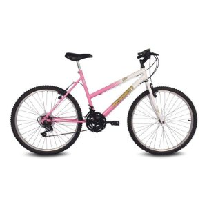 Bicicleta Aro 26 Live Rosa/Branco 18 velocidades - Verden Bikes