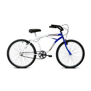 Bicicleta Aro 26 Confort Azul/Branco - Verden