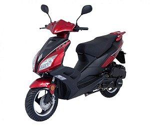 Scooter Miura 125 Vermelho - Bull Motocicletas