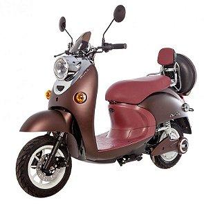 Scooter Elétrico Eko City 1200W Marrom Café - Bull Motocicletas