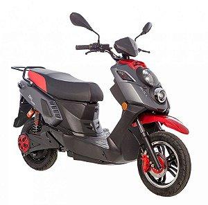 Scooter Elétrico Eko Hunter 2000W Preto/Vermelho - Bull Motocicletas