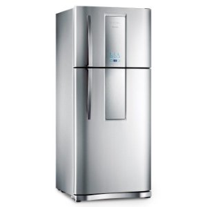Refrigerador Infinity Frost Free DF80X Inox 553 Litros 2 Porta - Electrolux