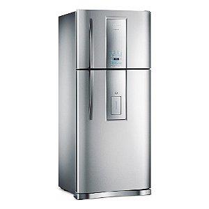 Refrigerador Infinity Frost Free DI80X Inox 542 Litros 2 Porta - Electrolux