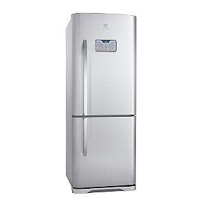 Refrigerador Frost Free Bottom Freezer DB52X Inox 454 Litros 2 Porta - Electrolux