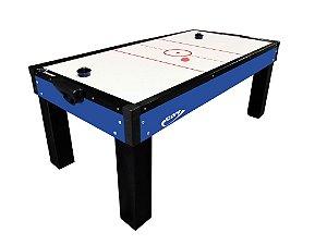 Mesa de Aero Hockey Azul/Preto Bivolt - Klopf