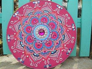 Mandala Rosa Energia do Amor